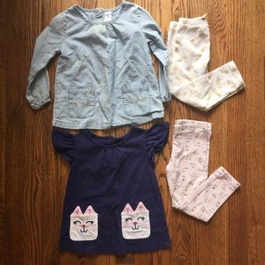 5/$25 Play clothes for toddler girl 3T